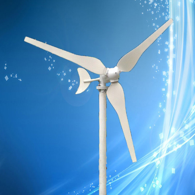 Low Wind Speed 50W 12VDC Wind Power Generator Max 65W Wind Turbine, CE Certificate + 3 Years Warranty!