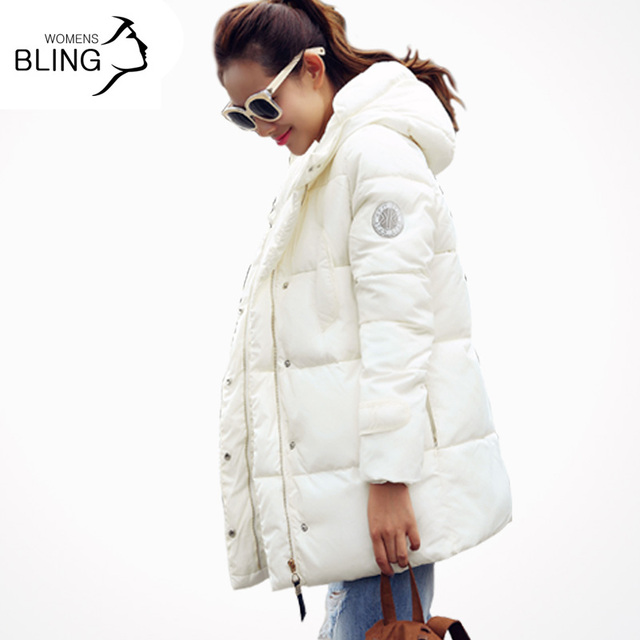 Super Deal 2016 Fashion Hooded Thickening Down Cotton Coat Warm Winter Jackets Casual Women Long Parkas Plus Size