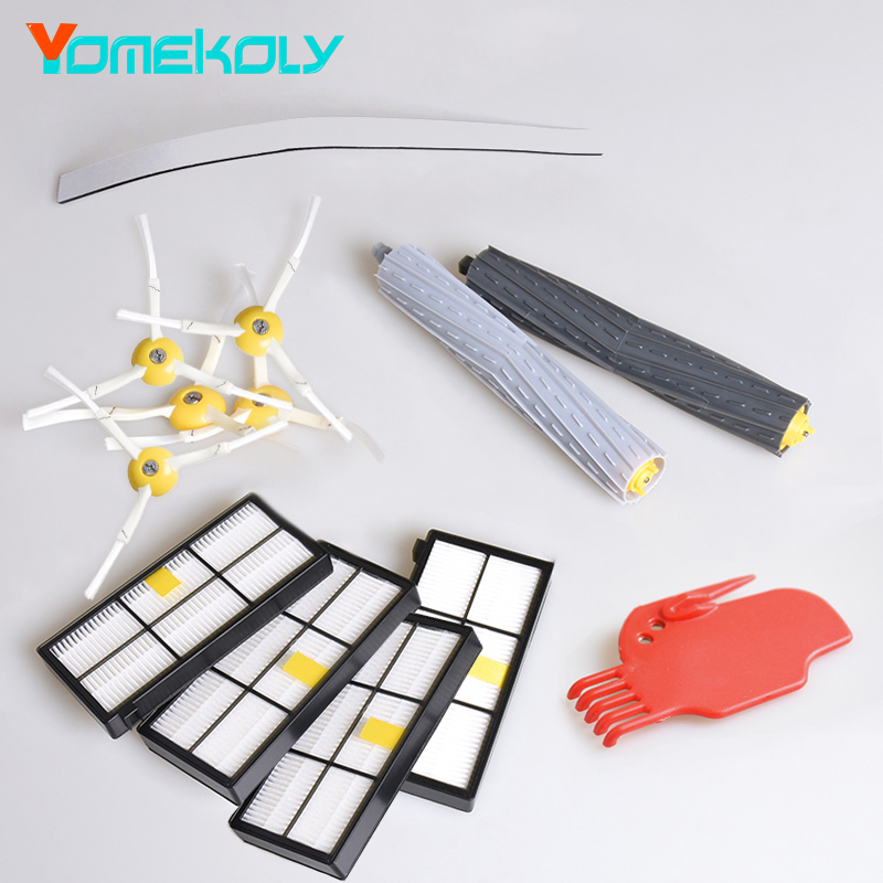13Pcs/Lot Tangle-Free Debris Extractor Replacement For iRobot Roomba 800 900 series 870 880 980 Vacuum Robots Cleaners Parts