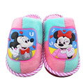 2016 Warm Plush Kids Soft Sole Boys Girls Slippers cartoon Minnie Children Winter s colors Slippers For Boys Girls Shoes