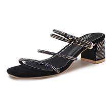 Fashion 2019 Shoes Women Open Toe Sandals Women Summer Shoes Bling Fashion High Heels Dress Sandals Heeled String Bead Sandals цена в Москве и Питере