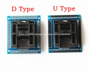 Image 5 - شحن مجاني QFP64 TQFP64 LQFP64 محول مأخذ التوصيل IC اختبار المقبس حرق 0.5 متر مبرمج STM32 QFP64 المقبس