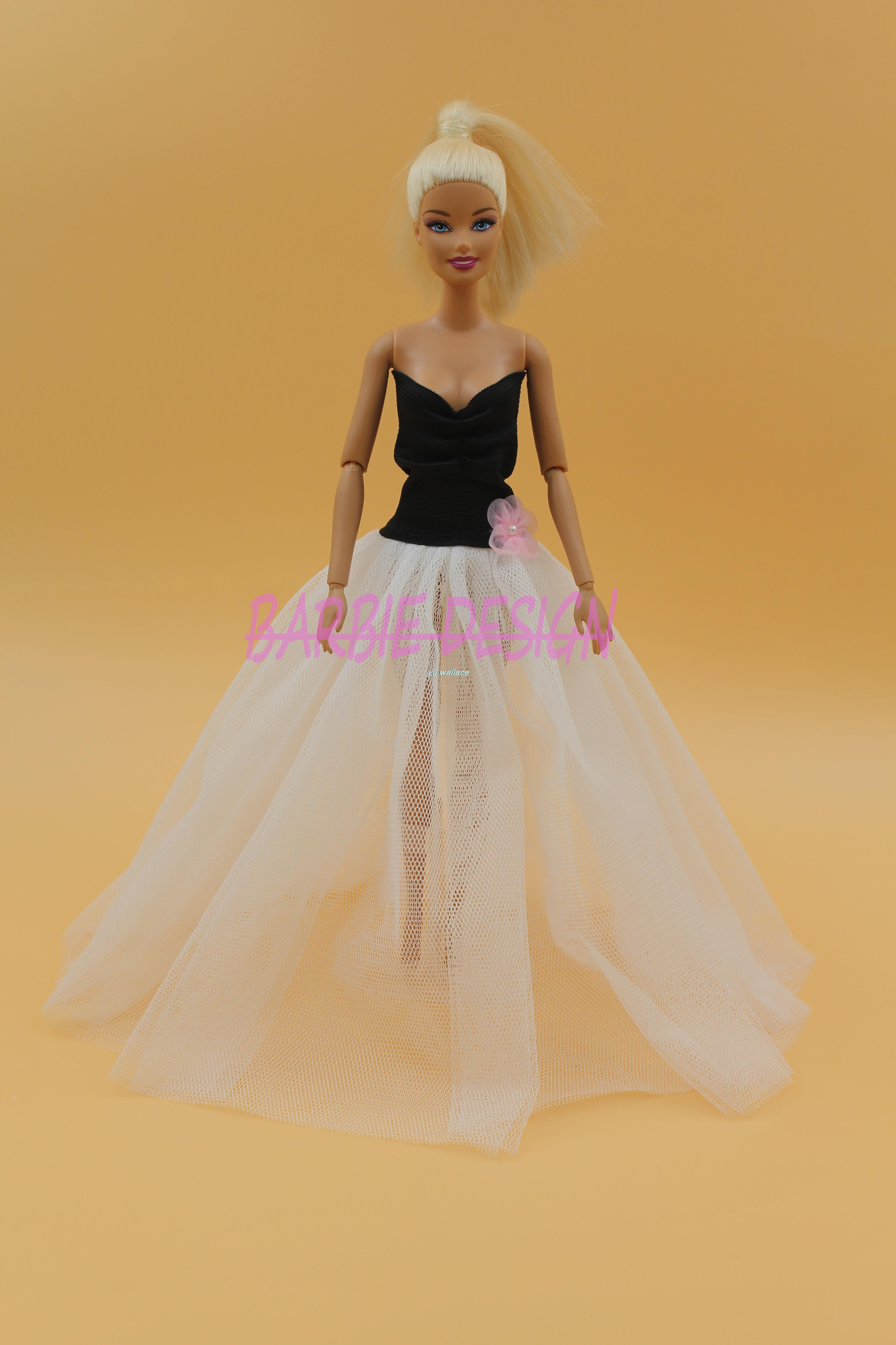New Arrival Doll Outfit Collection Luxury Fashipon Evening Dress Clothes For Barbie Doll Best Gift Baby