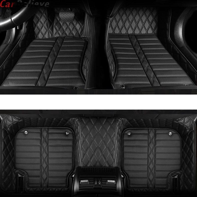 Acreditar Auto car floor mat Pé do carro Para skoda superb 2017 3 kodiaq yeti octavia rs fabia 1 3 karoq rapid 2017 acessórios tapetes
