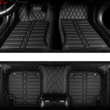 Car Believe Auto car floor Foot mat For skoda superb 2017 3 kodiaq yeti octavia rs 1 fabia 3 karoq rapid 2017 accessories rugs