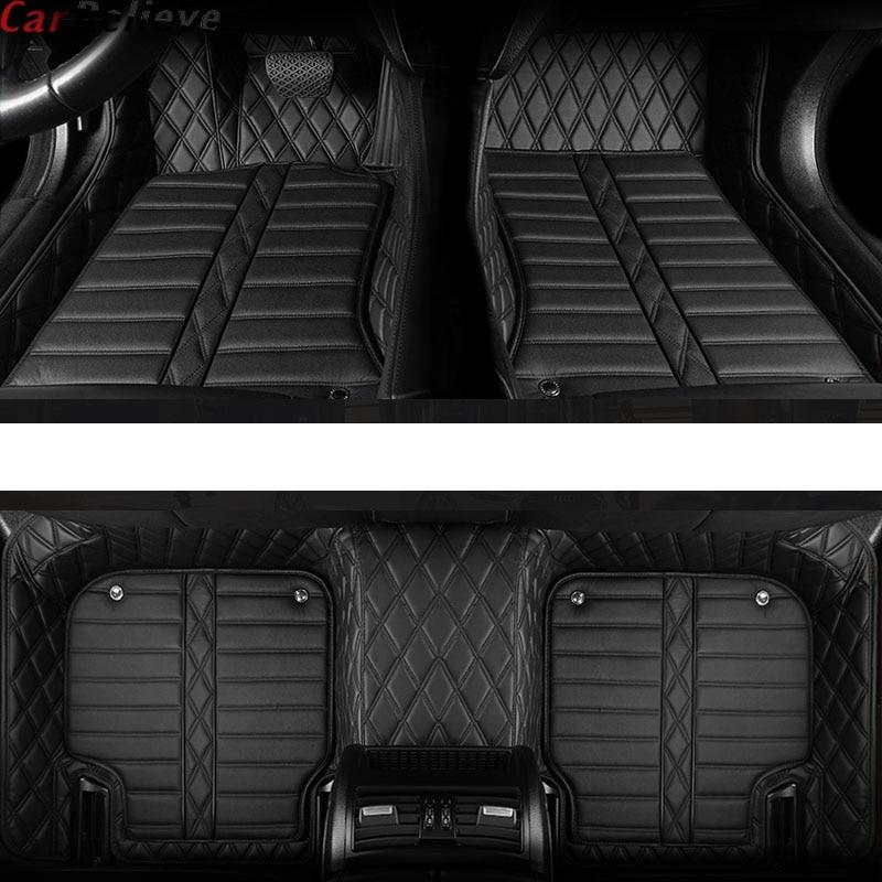 Tapis de sol de voiture Auto Believe pour skoda superb 2017 3 kodiaq yeti octavia rs 1 fabia 3 karoq rapid 2017 accessoires tapis