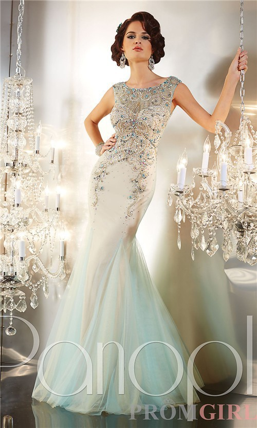 Beautiful Pale Green Bedrooms: Beautiful Style Light Green Applique Modest Prom Dresses