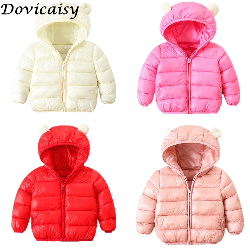 7b4db08ae7f0 2018 Baby Winter Coats Down Cotton Coat Jacket kids Baby Clothes ...