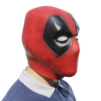 Deadpool Cosplay Latex Mask for Adults and Teenagers 4