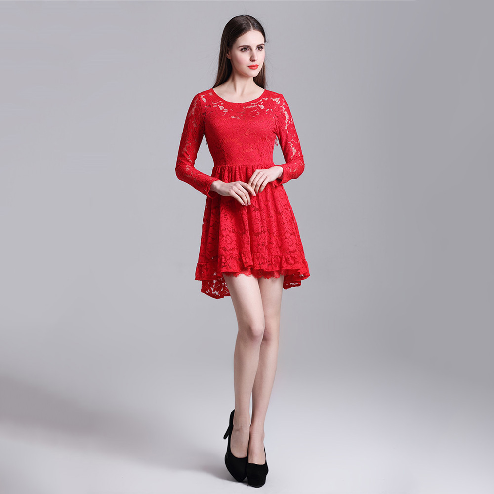 Long sleeve knee length prom dresses canada for
