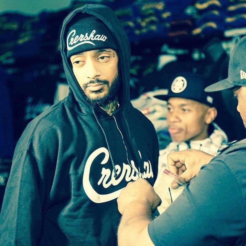 4409d17713955 Nipsey Hussle Cap Crenshaw Snapback Hat High Quality Baseball Cap For Men  And Woman Hip Hop Cotton Hat Free Shipping. HTB1F3oQQBLoK1RjSZFuq6xn0XXaE  ...