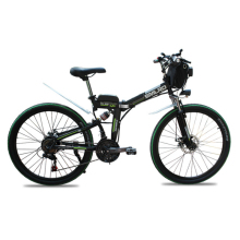 21 speed electric bicycle folding electric bike 24 and 26inch lithium battery folding mountain bike Adults electric bike