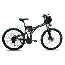 """24 """"-os lítium akkumulátor elektromos kerékpár 21 sebességes összecsukható kerékpár 26"""" -os összecsukható elektromos mountain bike Felnőttek elektromos kerékpárok"""