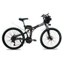 24 pulgadas batería de litio bicicleta eléctrica 21 velocidad plegable bicicleta 26 pulgadas plegables bicicleta de montaña eléctrica Adultos bicicletas eléctricas