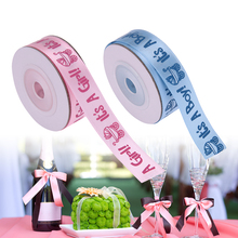 It's a Boy / Girl Printed Ribbons for Baby Showers