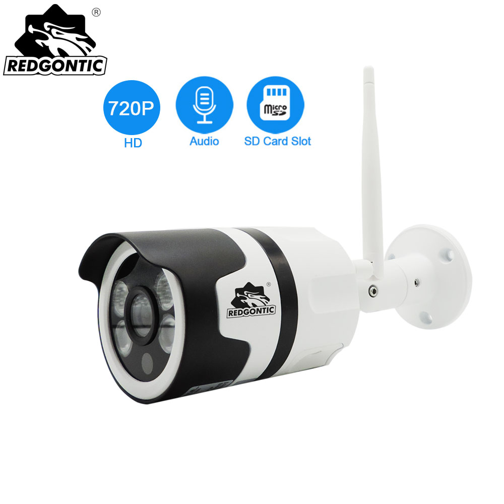 Wifi Outdoor IP Camera 720P 1080P Waterproof IP Kamera Bullet CCTV Cameras SD Card Yoosee Onvif Surveillance Camera P2P Security wistino cctv camera metal housing outdoor use waterproof bullet casing for ip camera hot sale white color cover case