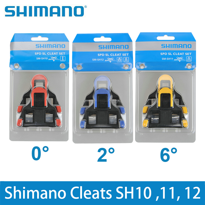 8306531d660 Shimano SH11 SPD SL Cleats SH10 SH11 SH12 Bicycle Road Pedal Cleats Bike  Dura Ace Cleats Pedals Plate Clip SM-SH11 SH-10 SH-12