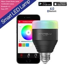 5 W E27 MIPOW Playbulb Bluetooth Smart LED ampoules APP Smartphone groupe contrôlée Dimmable changement de couleur intelligente éclairage