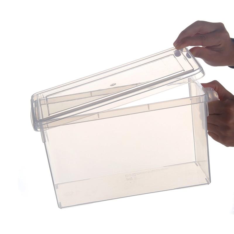 Practical Boutique Kitchen Food Container Refrigerator Storage Box - Transparent