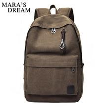 Mara's Dream Fashion Men's Canvas Backpacks 2017 Men Backpack Rucksack School Bags Satchel Male Travel Back Pack Bags Knapsack
