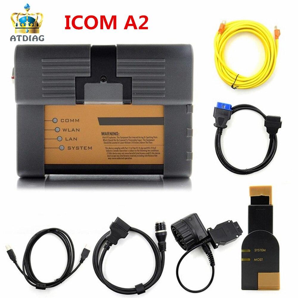 For Bmw Icom A2 B C Car Diagnostic Tool No Software Porsche Wds 24 Electrical Wiring Diagram Repair Manual Order V201703 Laptop Newest