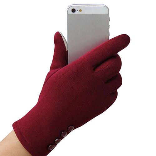 5 Colors New Touch Screen Gloves Fashion Women Outdoor Winter Warm Gloves Touch Screen Sport Ski Gloves Mitten Winter Gym Gloves