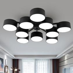 Lampa do salonu prosta nowoczesna atmosfera domowa lampa sufitowa led oświetlenie w stylu nordyckim kreatywna lampka do sypialni pokolenie
