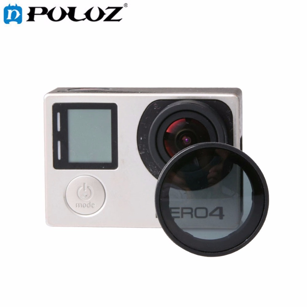 For Go Pro Accessories ND Filters / Lens Filter for GoPro HERO4 HERO3+ HERO3 HERO 4 3+ 3 Sports Action Camera