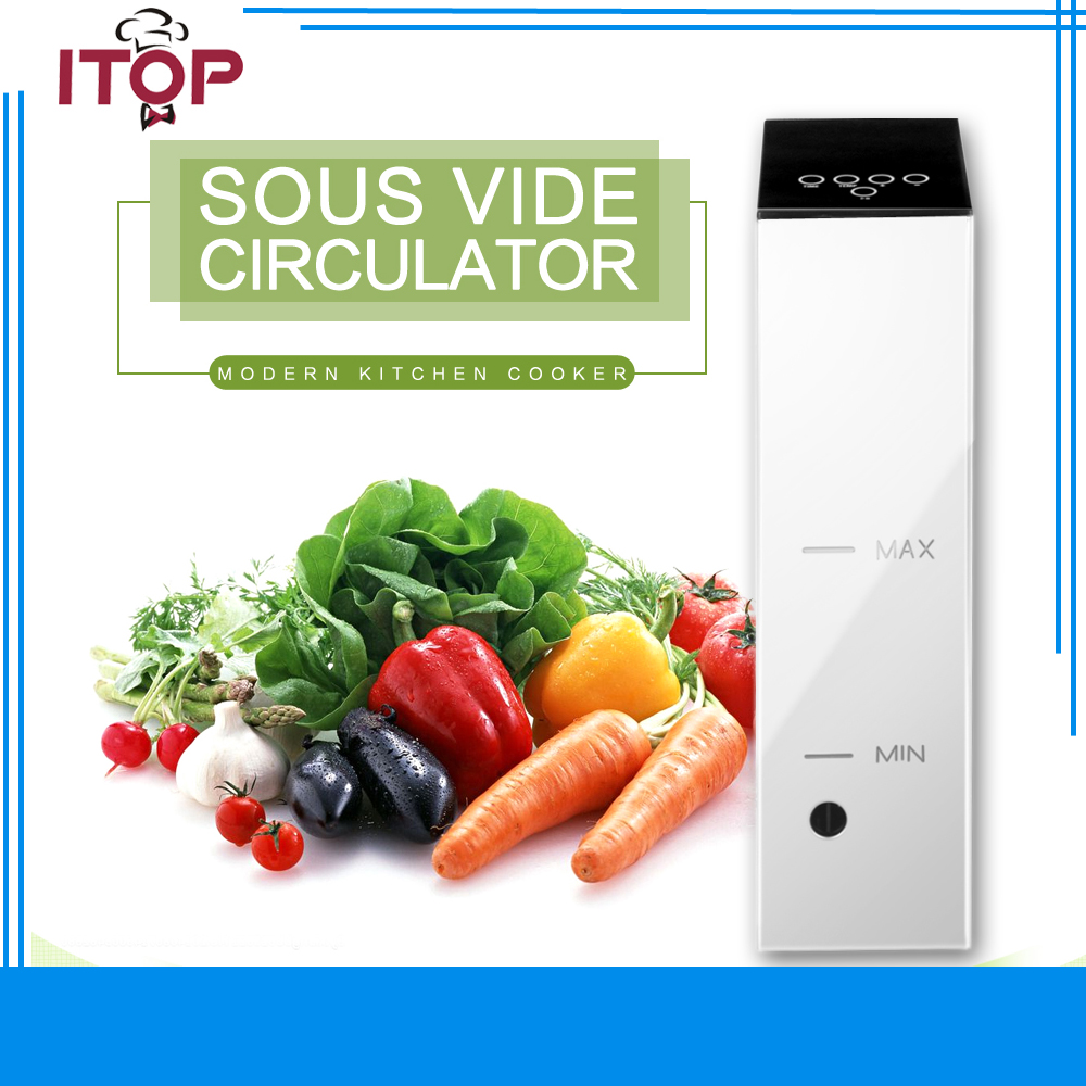 ITOP Electric Sous Vide Use with Vacuum Sealer Cook Vacuum-packed Food Thermal Immersion Circulator cook with jamie