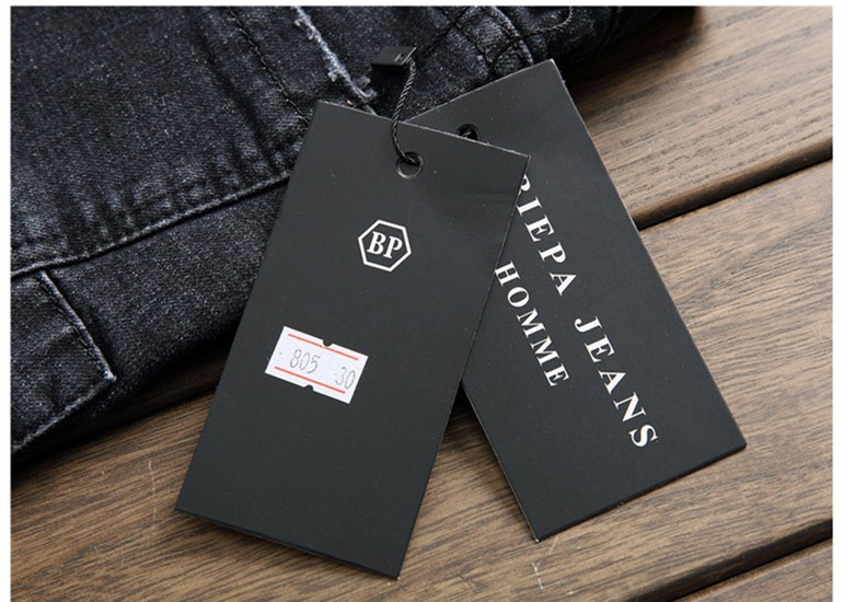 07de0cce BIEPA Scratched Men Denim Jeans Biker Patchwork Slim Fit Black Jeans Punk  Rock Rap Washed Straight Men Ripped Pants Trousers-in Jeans from Men's  Clothing on ...