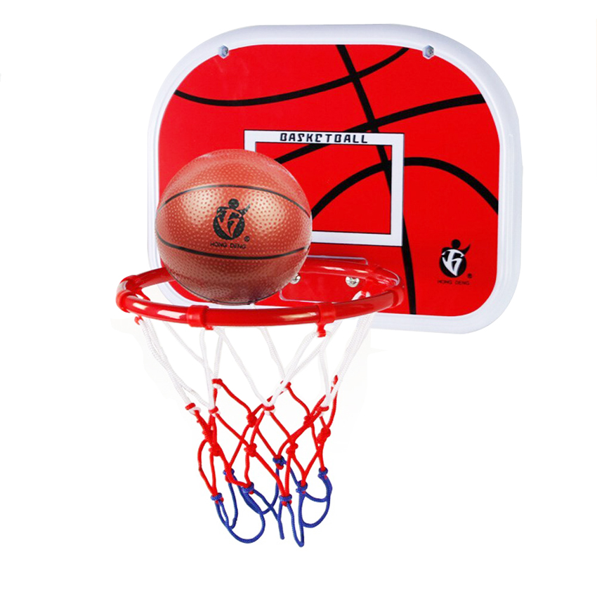 Inomhus justerbar hängande basketboll Nätboll Hoop Basketball Box Mini Basketball Board för spel Barn Barn Game