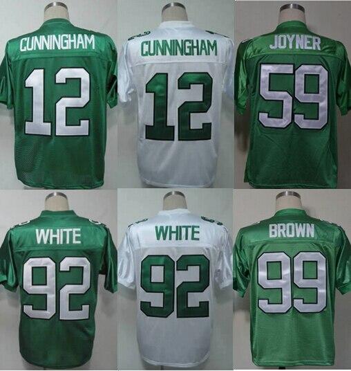 philadelphia eagles 12 randall cunningham white throwback 99th jersey 1cc420bc6