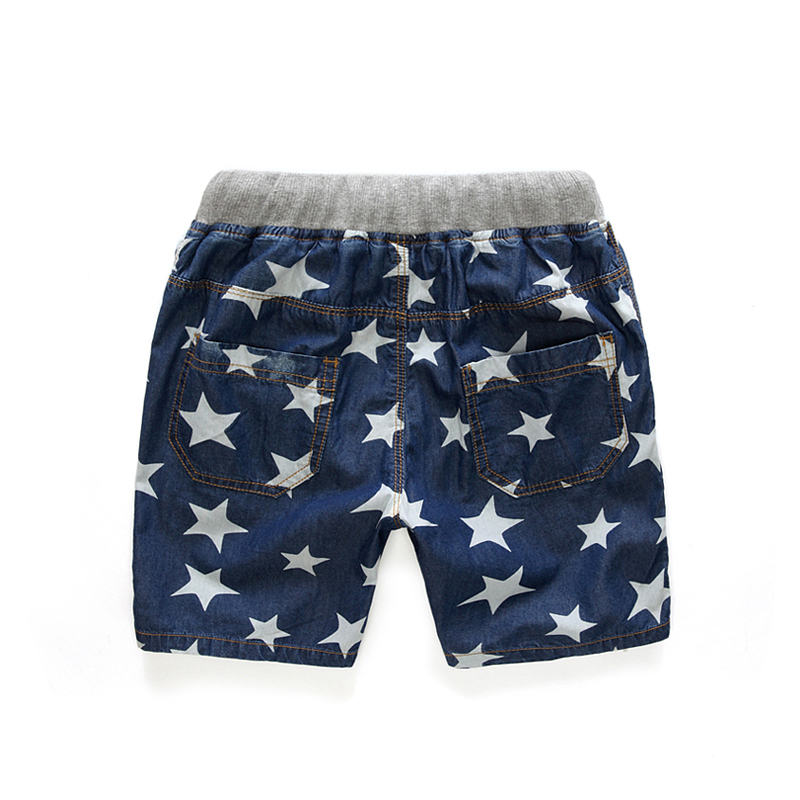 2017Summer Style Shorts for boy 7-8-9yrs Boys Shorts Star Kids Baby Boys Jeans Shorts Boys clothes Casual Children's Clothing 2