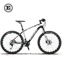 Cyrusher Carbon Fiber Frame Bike 30 Speed Mountain Bicycle 26 X2 0 Tires Double Disc Brake