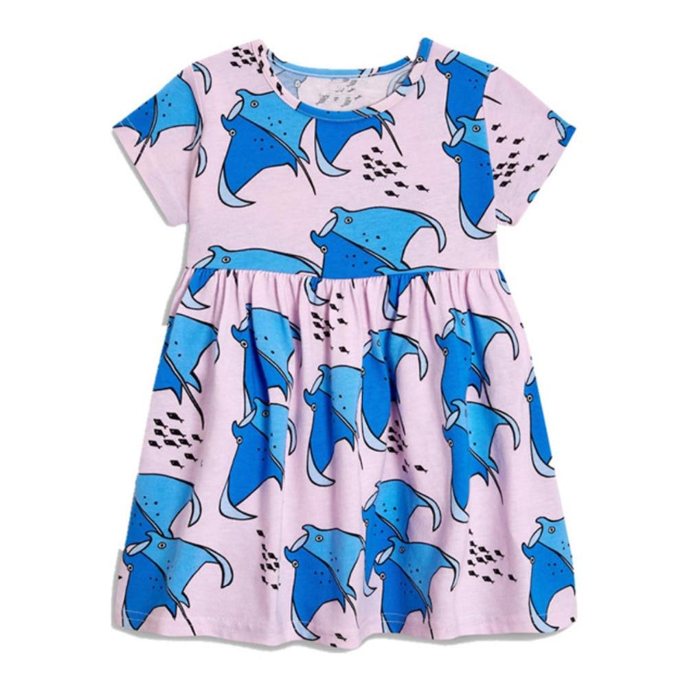 Meisjes Zomer Babykleding Merk Kinderkleding Print Kinderkleding - Kinderkleding - Foto 3