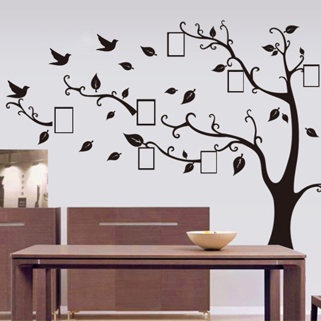 specials price new bst 9036ab frame tree wall sticker living room