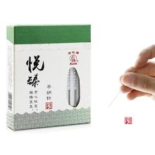 цены на Multi-SIZE/HuaTuo Flat handle Acupuncture Needle with no tube Sterilized Foil Wrapped Pack 100 per box  в интернет-магазинах