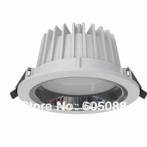 5 16w round led showcase light AC110/220v triac dimmable under cabinet down lamp smooth dimming without flickering 10pcs/lot