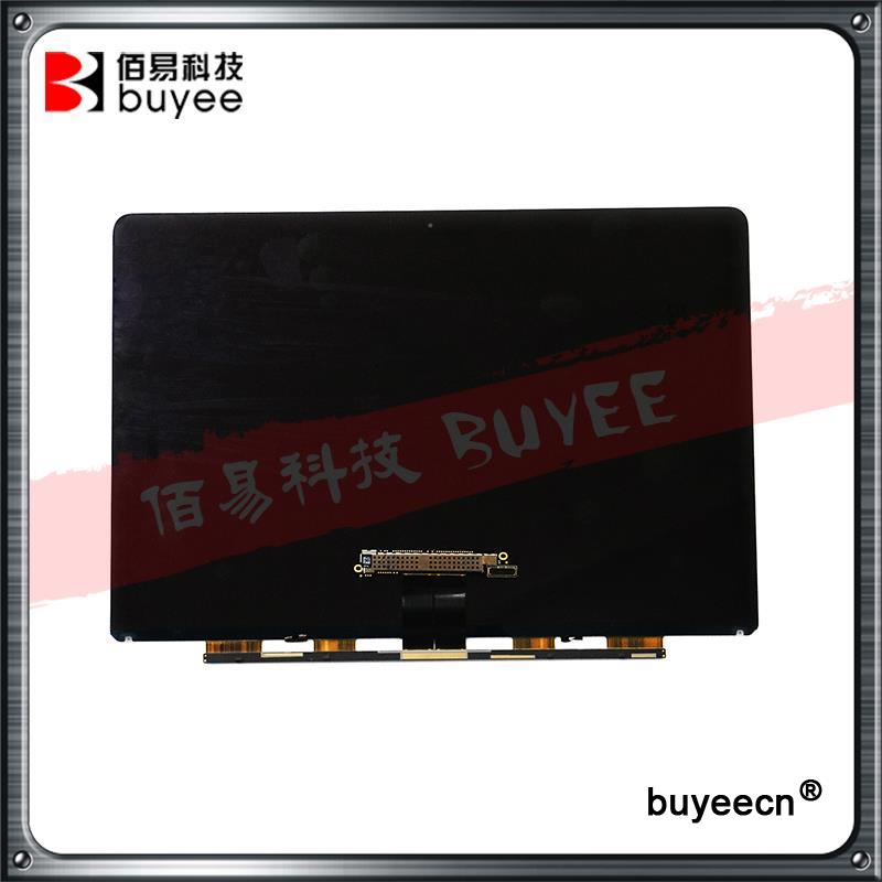 New Original A1534 LCD Screen Display Panel 2015 2016 Year For Macbook Air 12 Inch A1534 LCD MF865 MF865 LSN120DL01-A01 original brand new for macbook a1466 a1369 lcd screen display panel 13 3 glass