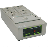 Free Shipping Cost 5 Tanks 12kg Capacity Electric Digital Chocolate Melter machine Food heating pot for Commercial use