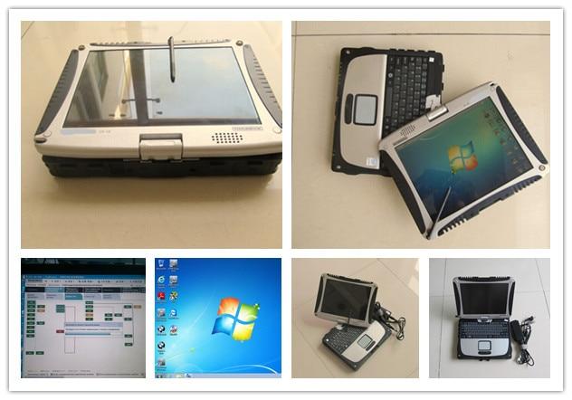 100% Wahr Für Bmw Auto Diagnose Computer Toughbook Cf-19 Mit Batterie 2019,05 Neueste Software Hdd 500 Gb Windows 7 Laptop Touch Für Bmw