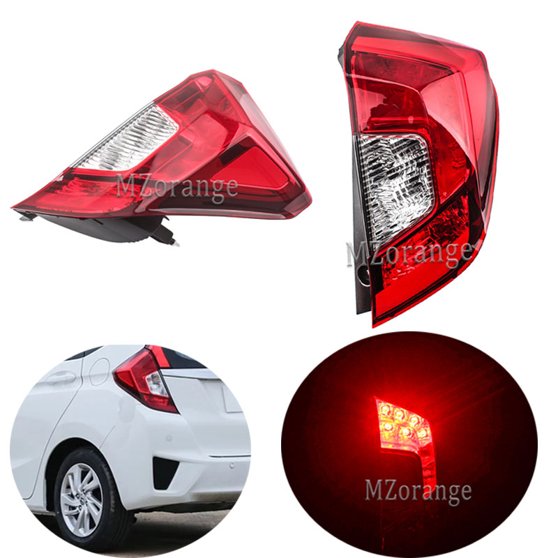 MZORANGE Rear Tail Light For <font><b>Honda</b></font> <font><b>FIT</b></font> JAZZ GK5 GP5 2014 <font><b>2015</b></font> <font><b>2016</b></font> 2017 Tail Lights Lamp 33550-T5A-G02 33500-T5A-G02 33550T5AG02 image