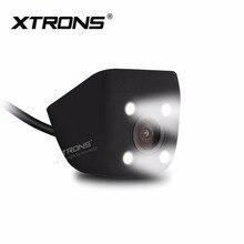 """XTRONS CAM009 Универсальная автомобильная камера заднего вида Камера легко Установка Водонепроницаемый регулируемые углы """" кошачий глаз"""" мощный светодиодный светильник"""