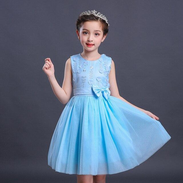 Summer Girl Clothing Kids Baby Princess Dress Children Fashion Show