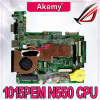 Akemy 1015P For Asus Eee PC 1015p laptop motherboard with N550 cpu 1015PEM mainboard rev1.3G (BT3/USB2.0) Test