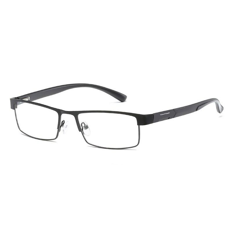 Hohe Qualität MÄnner Titan Legierung Brillen Nicht Sphärische 12 Schicht Beschichtet Objektiv Lesebrille + 1,0 + 1,5 + 2,0 + 2,5 + 3,0 + 3,5 + 4,0