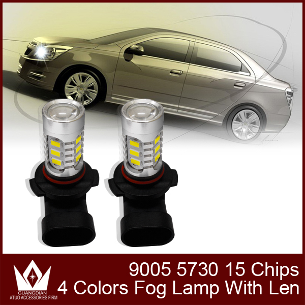 Guang Dian car led light Fog lamp Fog Light  fog bulb headlight headlamp 9005 HB3 7.5w 5730 led high bright 10pcs 30pcs 50pcs 9005 blue film super bright car halogen bulb for headlight with high quality drop shipping