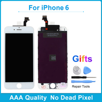 10PCS AAA Grade No Dead Pixel Screen For IPhone 6 6S 7 LCD Display With 3D
