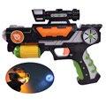 Música Projeção Arma de Brinquedo Arma Brinquedos Brilhantes do miúdo Dos Desenhos Animados de Animais Mini Imagem Piscando Arma de Brinquedo Rifle Branco, Preto brinquedos para As Crianças