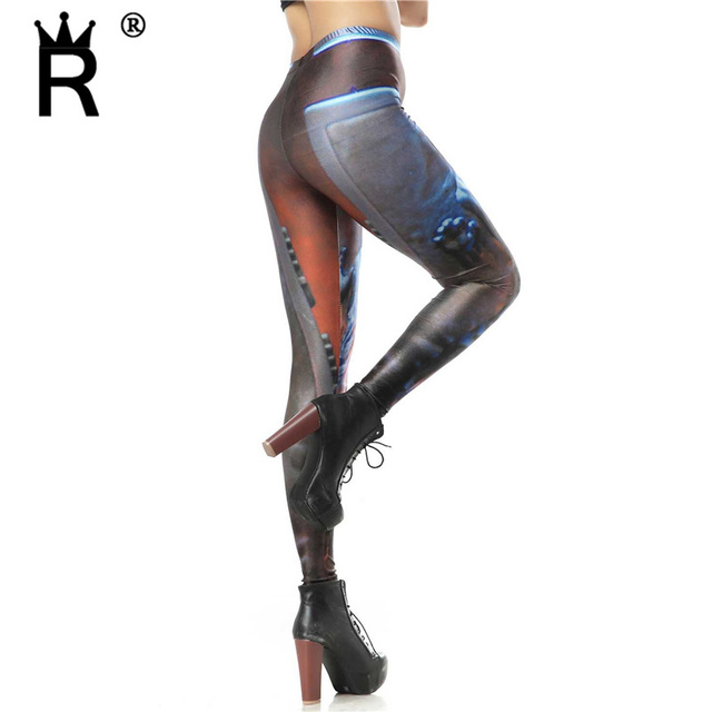Brand New Star Wars leggins Digital Print  Woman Leggings Skinny Pants Black milk KDK1102